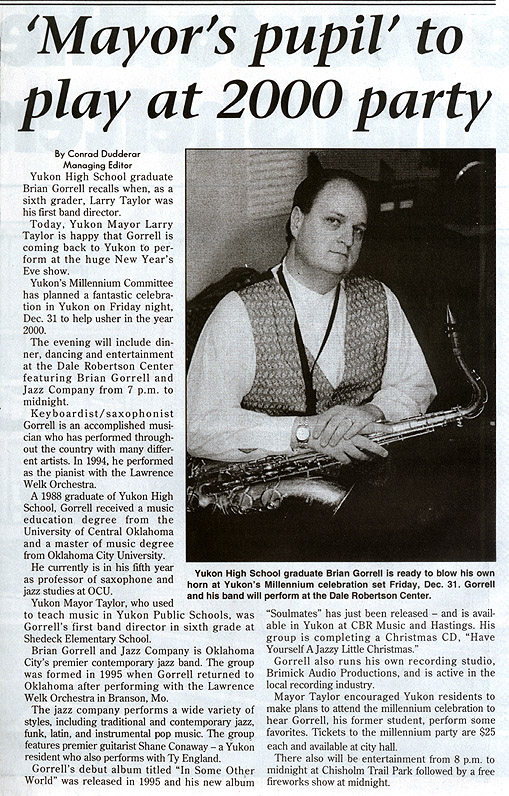 Article In Yukon Review, 1999